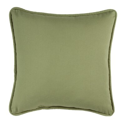 Revathi Cotton Throw Pillow Color: Green