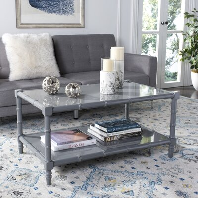 Jordon Coffee Table Color: Gray