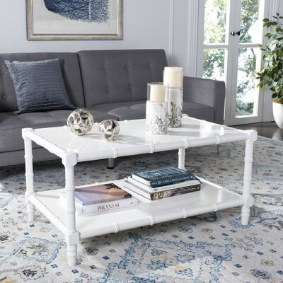 Jordon Coffee Table Color: White