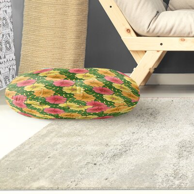 Omie Indoor/Outdoor Floor Pillow Size: 26 H x 26 W x 8 D