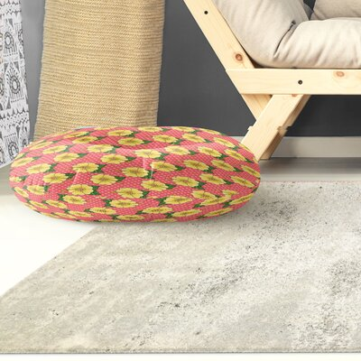 Omie Floor Indoor/Outdoor Floor Pillow Size: 26 H x 26 W x 8 D