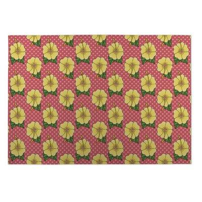 Anitra Hibiscus Doormat