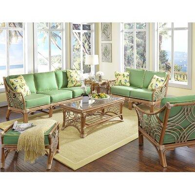 Rainey 6 Piece Living Room Set Upholstery: Hickory Lemon