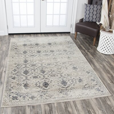 Margaret Natural Area Rug Rug Size: 53 x 76