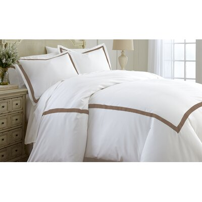 Clay Duvet Set Size: Queen, Color: Mocha