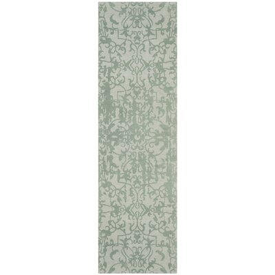 Ellicottville Hand-Tufted Wool Area Rug Rug Size: Runner 23 x 8
