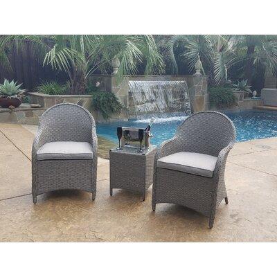 Eliana�3 Piece Lounge Seating Group With Cushion