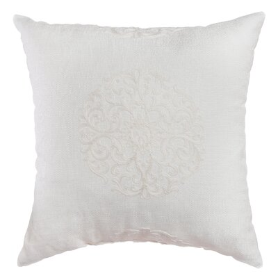 Bellevue Decorative Throw Pillow Color: White