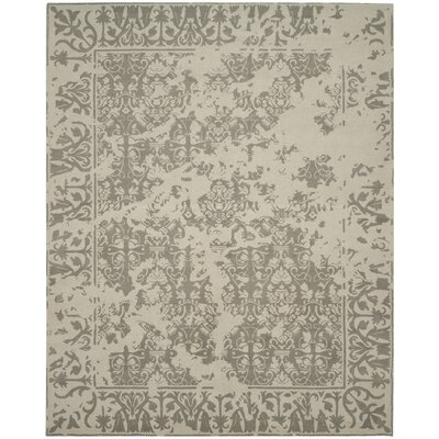 Ellicottville Hand-Tufted Brown/Cream Area Rug Rug Size: Rectangle 8 x 10