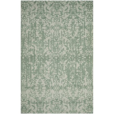 Ellicottville Hand-Tufted Wool Area Rug Rug Size: Rectangle 5 x 8