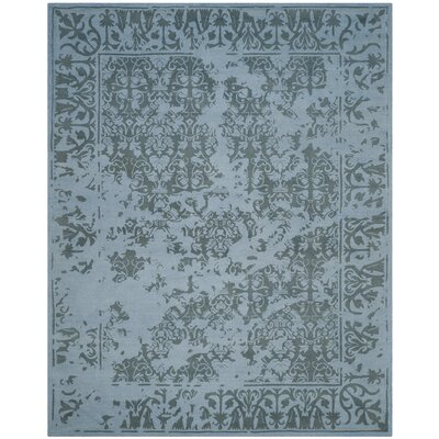 Ellicottville Hand-Tufted Blue Area Rug Rug Size: Rectangle 8 x 10