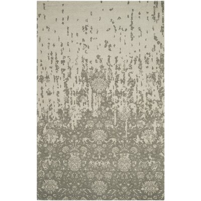 Ellicottville Hand-Tufted Light Sage / Gray Area Rug Rug Size: Rectangle 5 x 8