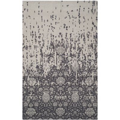 Ellicottville Hand-Tufted Brown/Gray Area Rug Rug Size: Rectangle 5 x 8