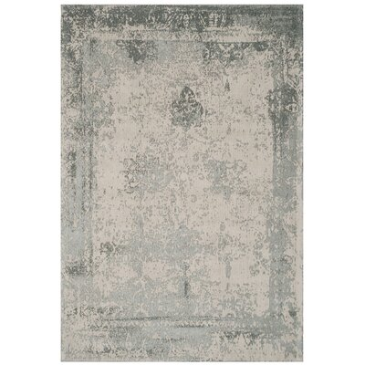 Ellery Gray Area Rug Rug Size: Rectangle 5 x 8