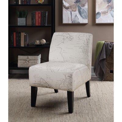 Ardane Printed Script Slipper Chair
