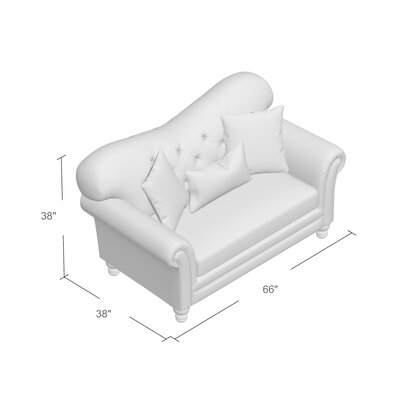 Remmie Stationary Loveseat