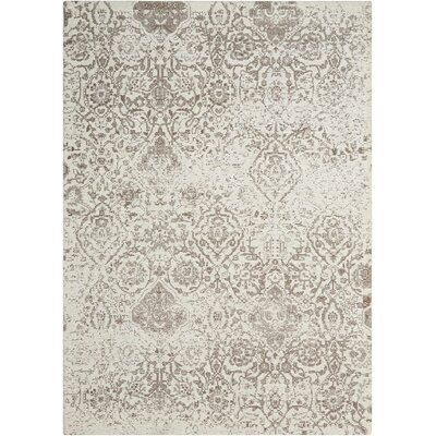 Simmons Ivory/Taupe Area Rug Rug Size: Rectangle 23 x 39