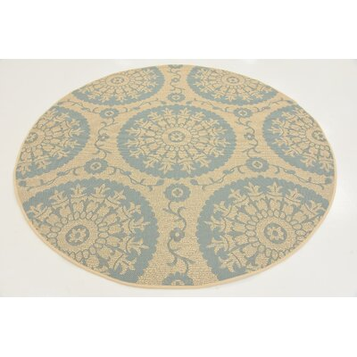Rundell Beige Outdoor Area Rug Rug Size: Rectangle 5 x 8