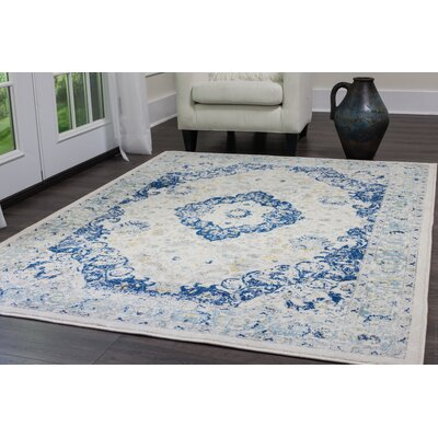 Emmalynn Ivory Area Rug Rug Size: Rectangle 22 x 19