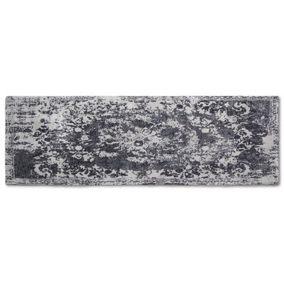 Hwan Artifaq Balad Gray Area Rug Rug Size: Runner 2 x 6