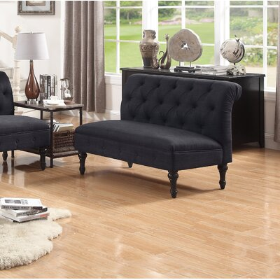 Lauryn Tufted Chesterfield Sofa Upholstery Color: Charcoal