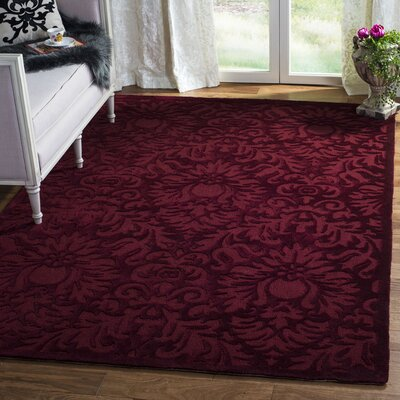 Jonson Hand-Hooked Marine Area Rug Rug Size: Rectangle 6 x 9