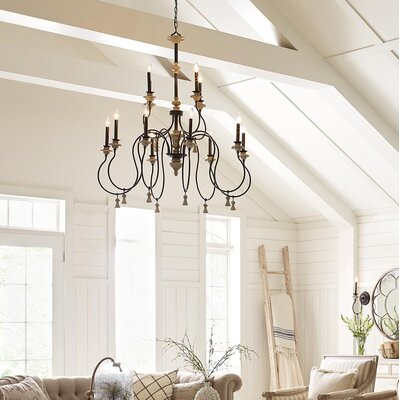 Kanode 6-Light Candle-Style Chandelier