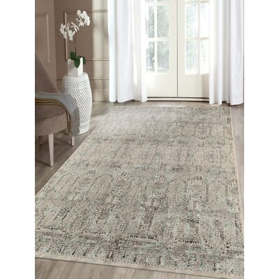 Cadence Transitional Blue Area Rug Rug Size: Rectangle 5 3 x 7 7