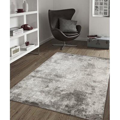 Cadence Transitional Gray Area Rug Rug Size: Rectangle 710 x 1010