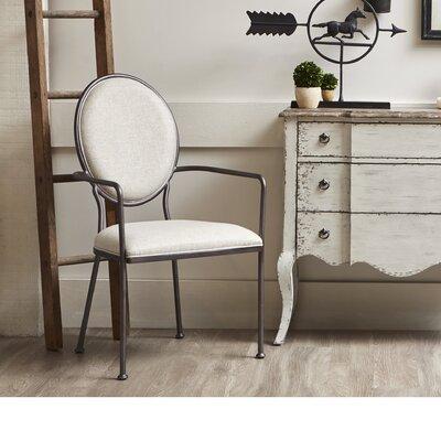 Updegraff Oval Back Upholstered Dining Chair