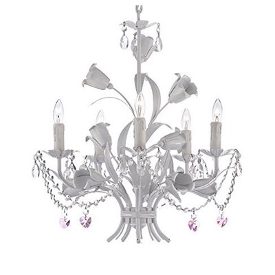 Jakarta 5-Light Candle-Style Chandelier