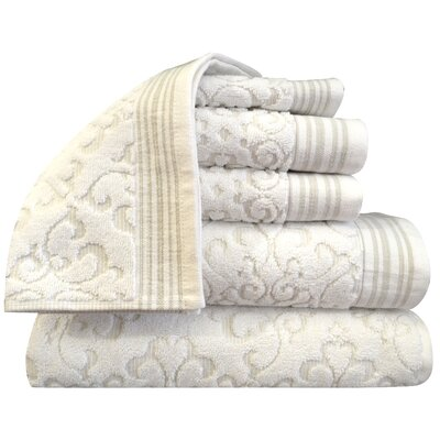 Vandiver 6 Piece Towel Set