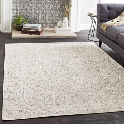 Geir Ivory Area Rug Rug Size: Rectangle 7'10