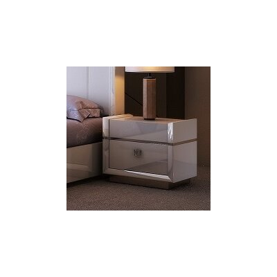 Whicker 2 Drawer Nightstand