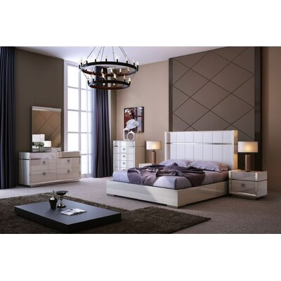 Brookside Platform Bed Size: King
