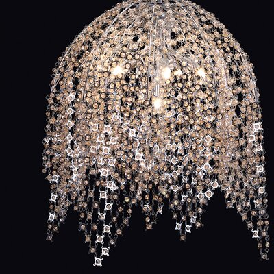 Shirlee 6-Light Crystal Pendant