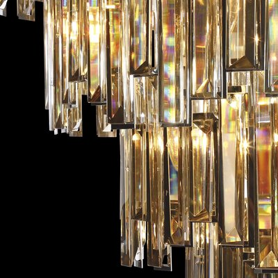 Shiela Glittering 15-Light Crystal Chandelier