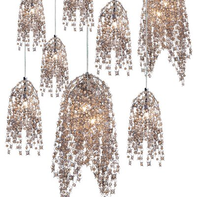 Shirlee 10-Light Cluster Pendant