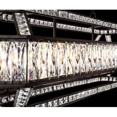 Sheryll 8-Light Crystal Chandelier