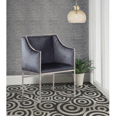 Zenia Armchair Upholstery: Gray