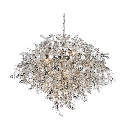 Ambriz 17-Light Crystal Chandelier