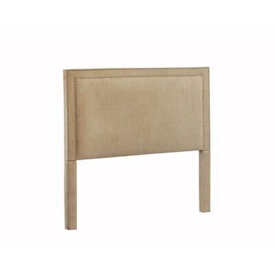 Hayley Upholstered Panel Headboard Size: King, Upholstery: Brooke Pecan