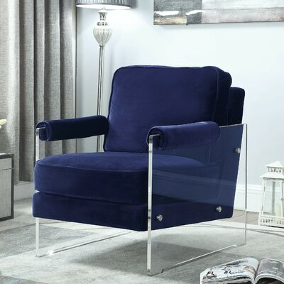 Bourne Armchair Upholstery: Navy