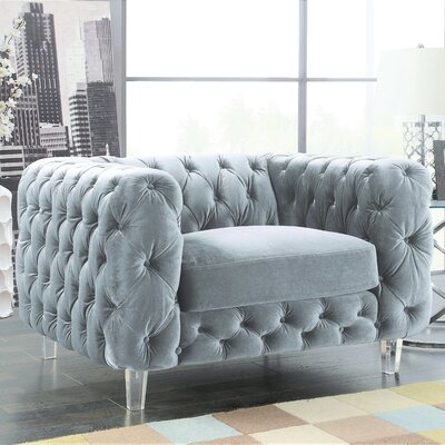 Bourn Armchair Upholstery: Gray