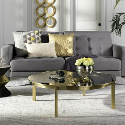 Sammie Glass Top Coffee Table