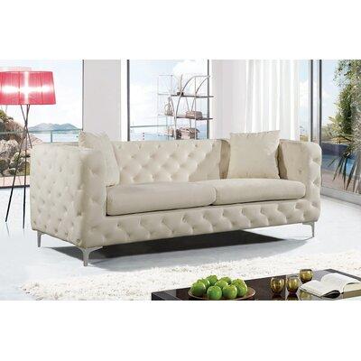 Maubray Sofa Upholstery: Cream
