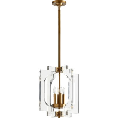 Pavan 4-Light Foyer Pendant