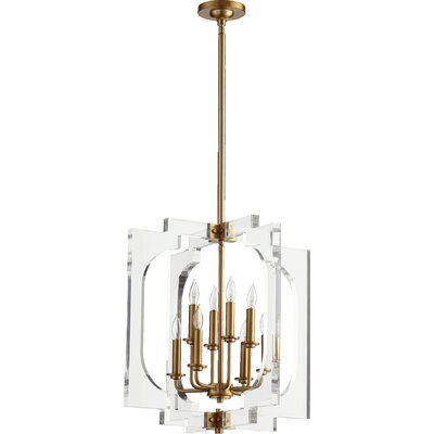 Pavan 8-Light Foyer Pendant