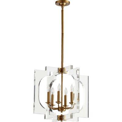 Pavan 6-Light Foyer Pendant