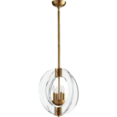 Pavan 4-Light Globe Pendant